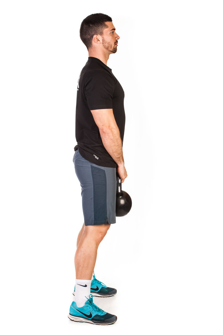 Kettlebell Deadlift frame #1