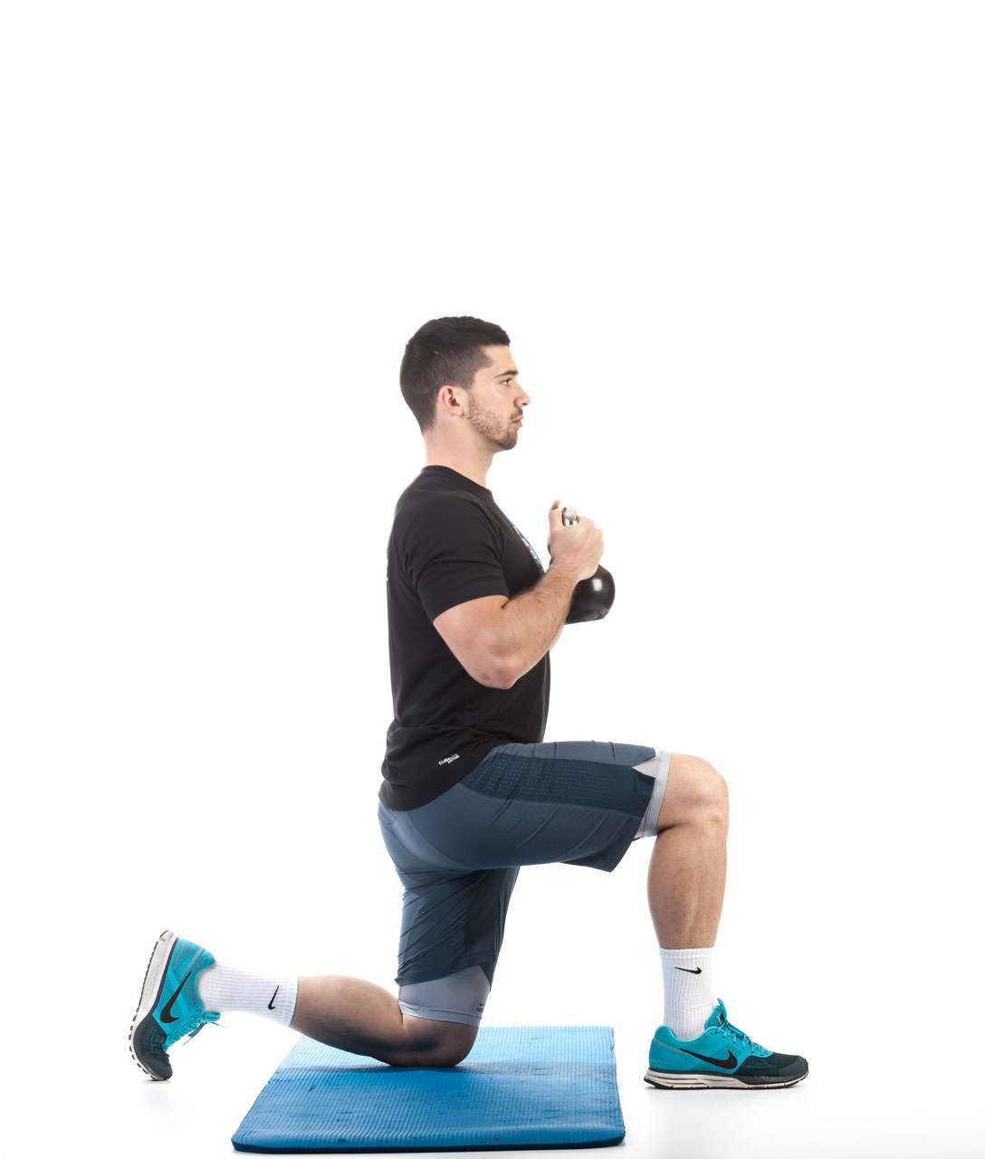 Kettlebell Kneeling to Stand-Up frame #2
