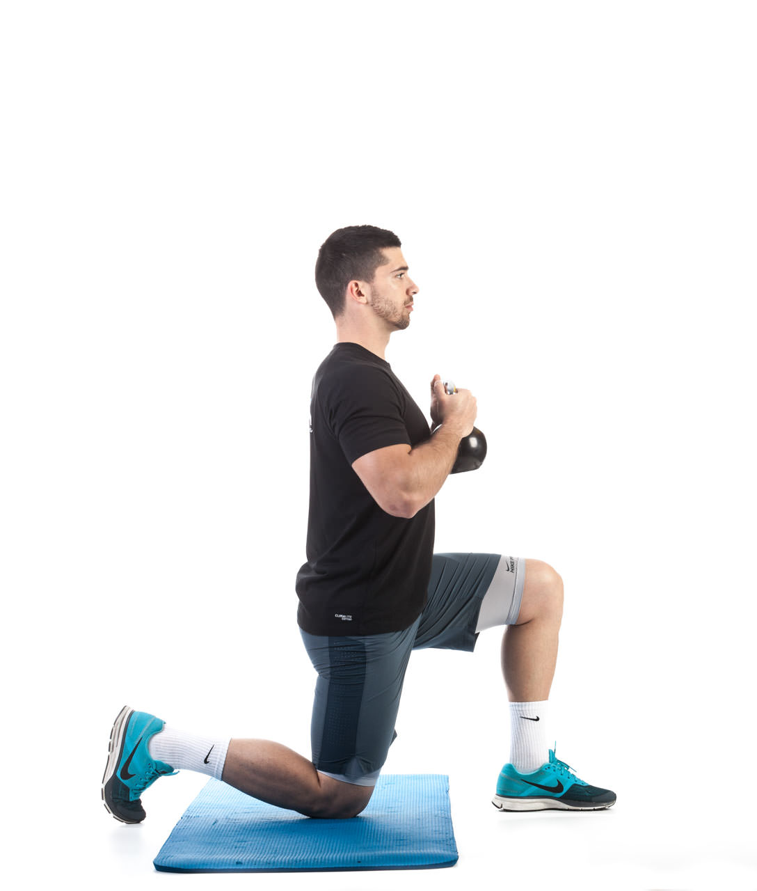 Kettlebell Kneeling to Stand-Up frame #4
