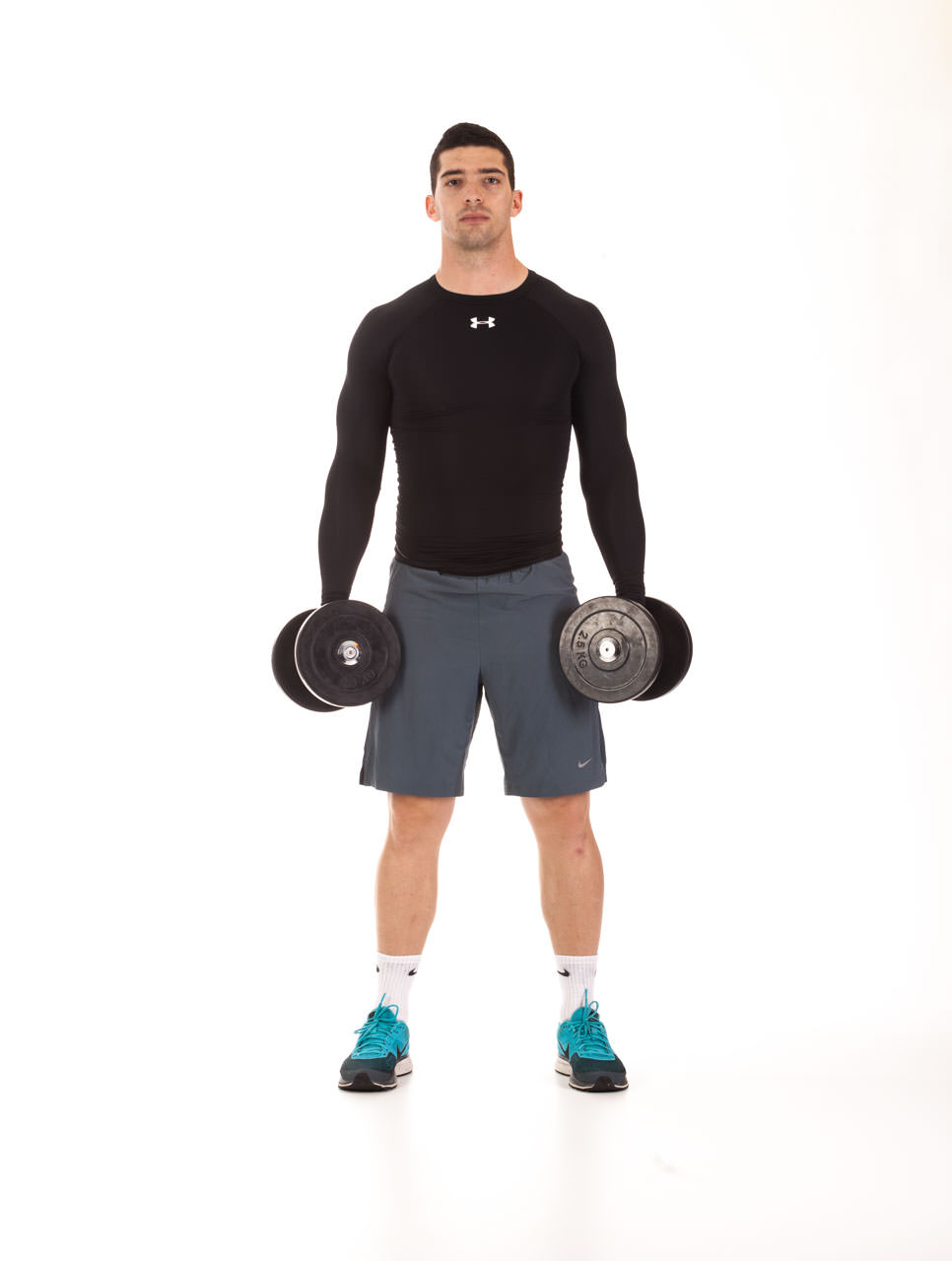 Two-Dumbbell Lateral Raise frame #1
