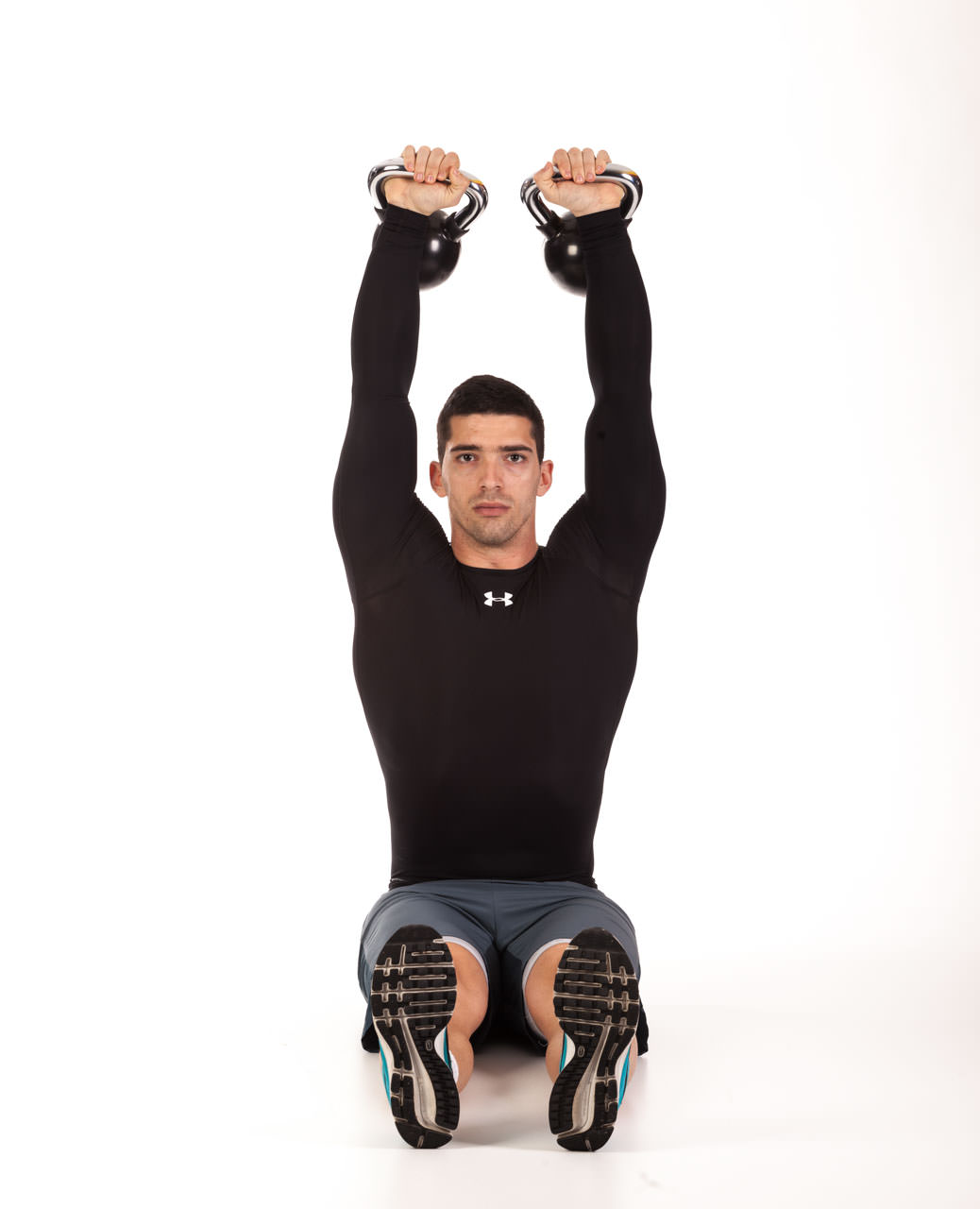 Kettlebell Seated Press frame #2
