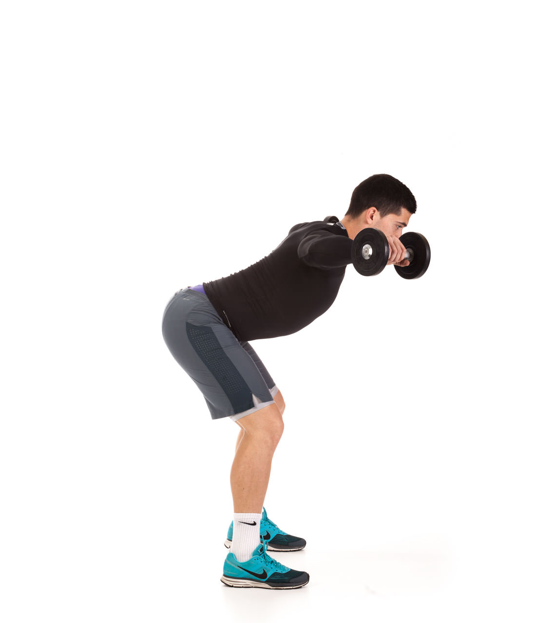 Bent Over Dumbbell Lateral Raise frame #5