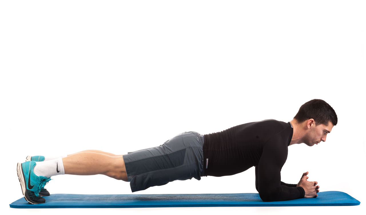 Plank Walk-Up to Push-Up frame #1