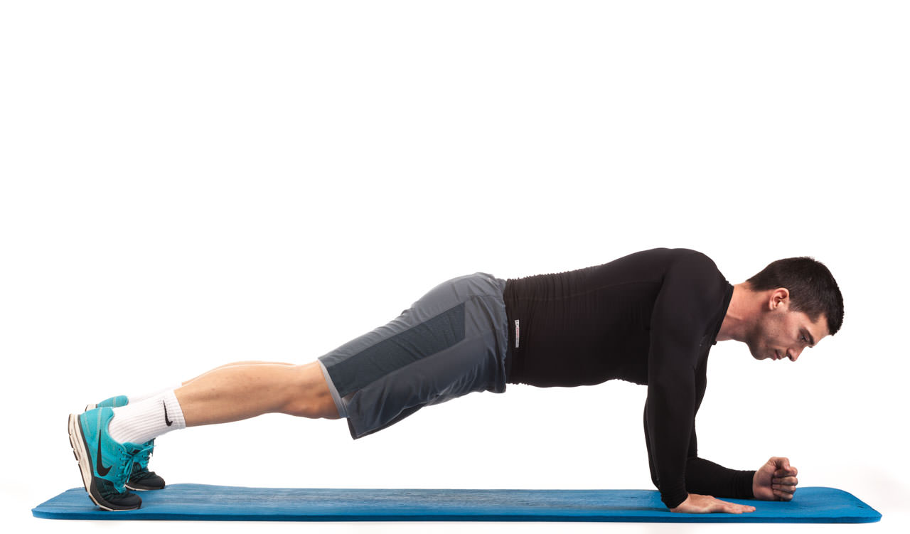 Plank Walk-Up to Push-Up frame #2