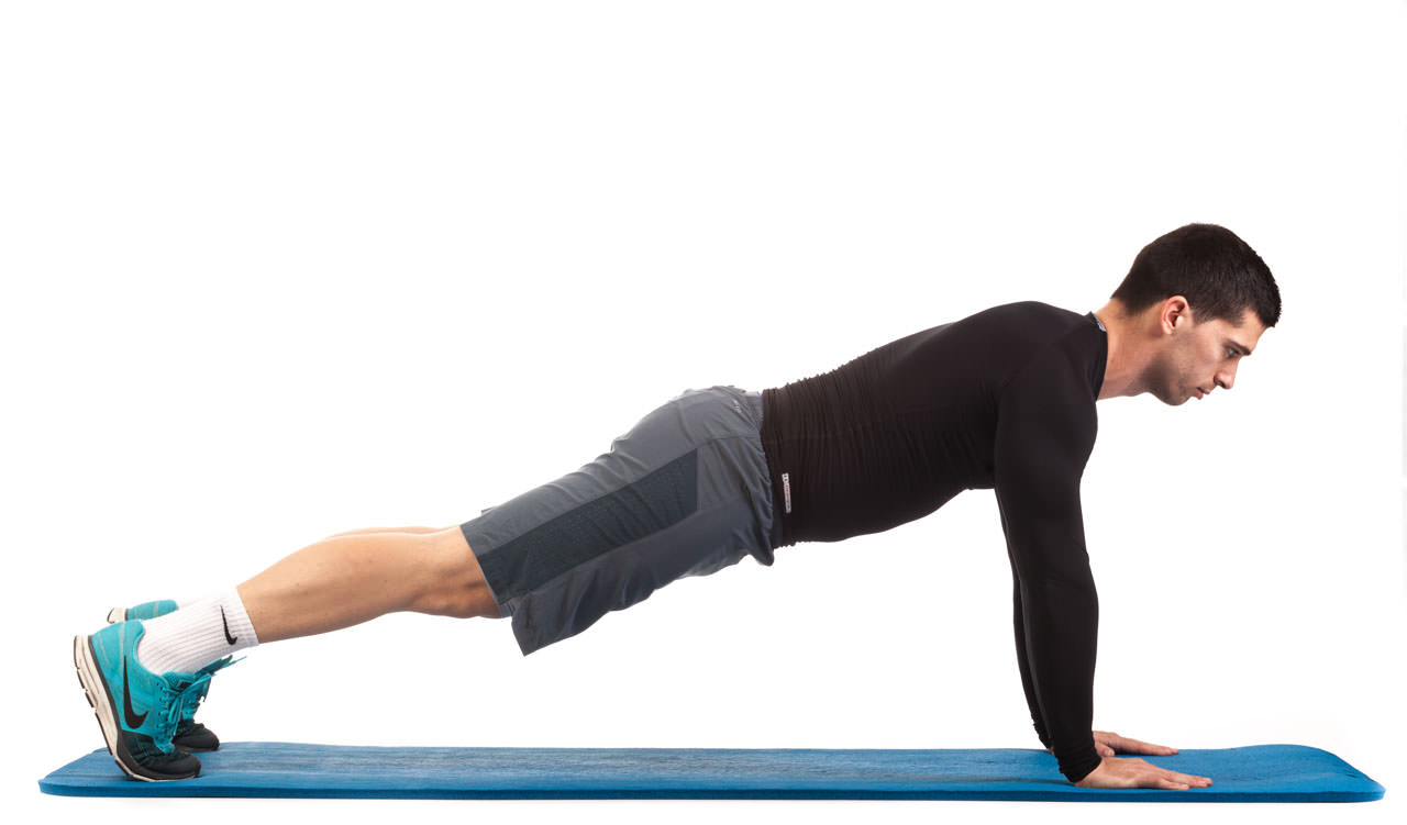Plank Walk-Up to Push-Up frame #3