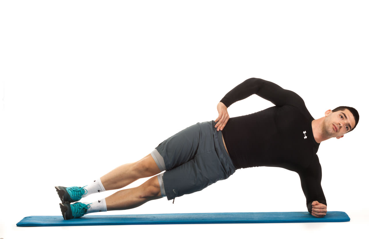 Side Plank with Hip Lift frame #2