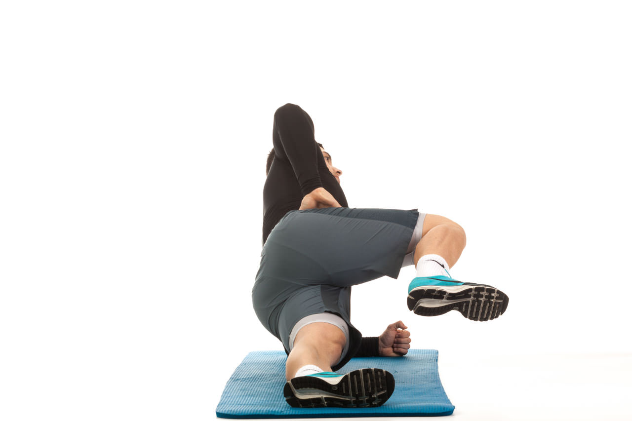 Side Plank with Knee Drive frame #2