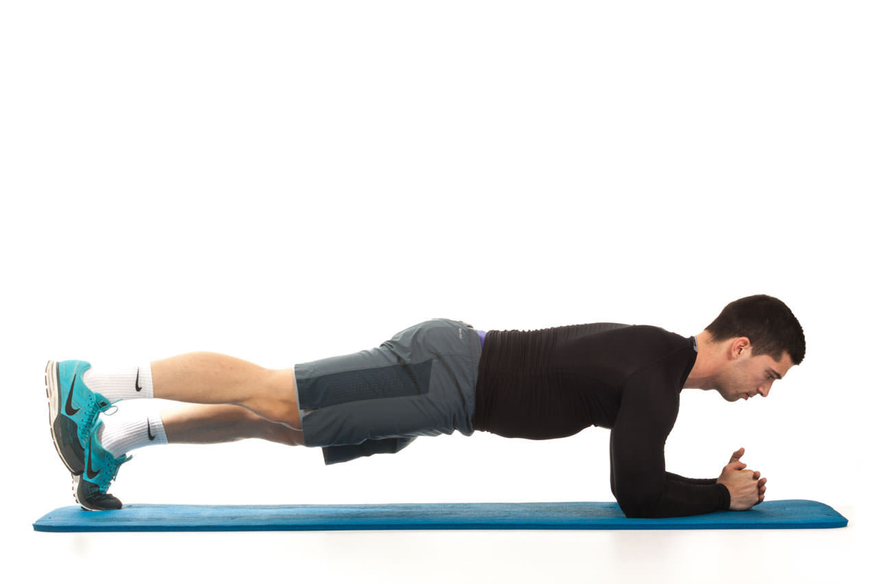 Plank with Leg Lift frame #1