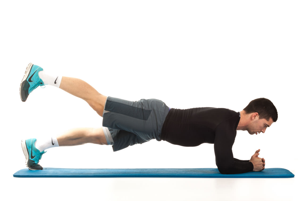Plank with Leg Lift frame #2