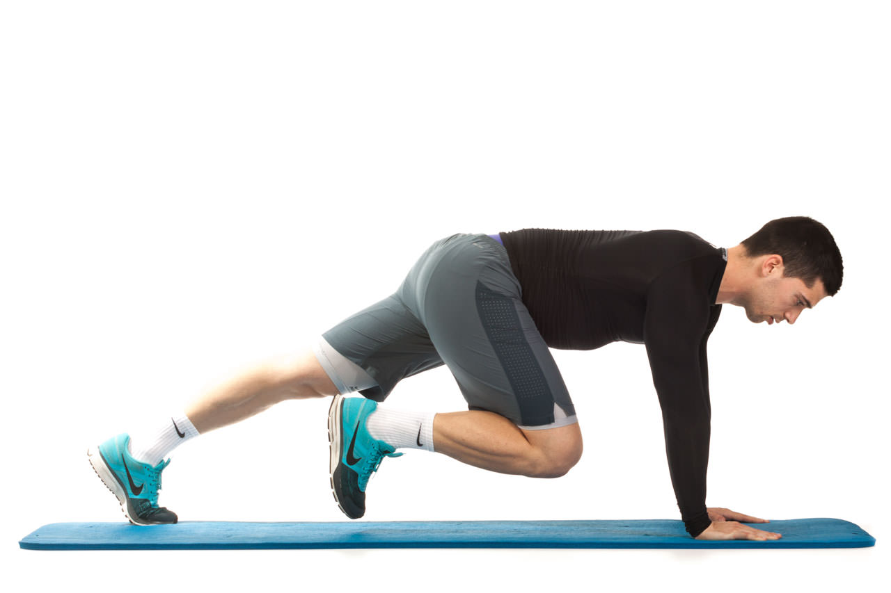 Plank with Knee Drive frame #2