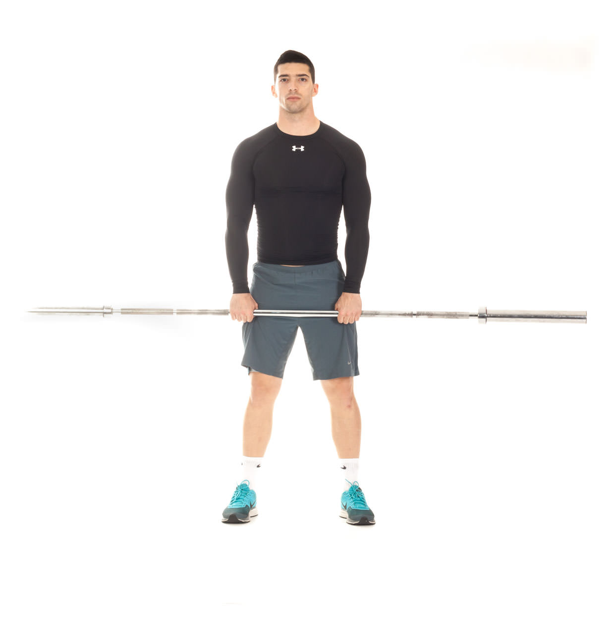 Upright Barbell Row frame #1