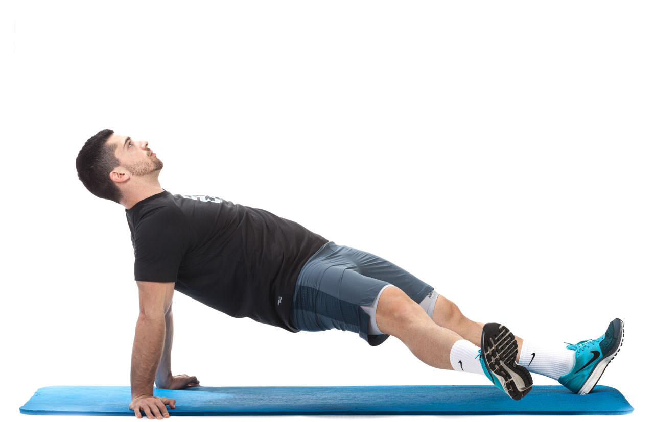 Reverse Plank with Hip Abduction frame #5