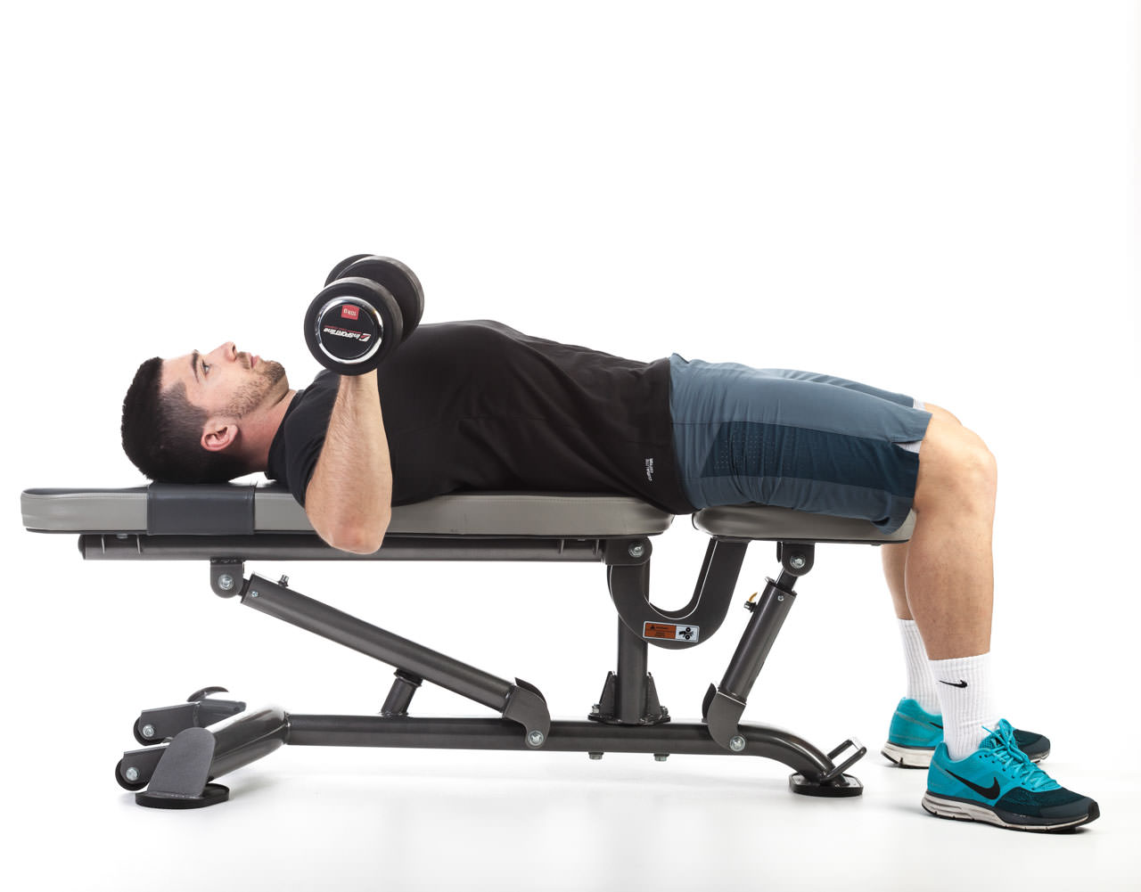 Dumbbell Bench Press with Rotation frame #1
