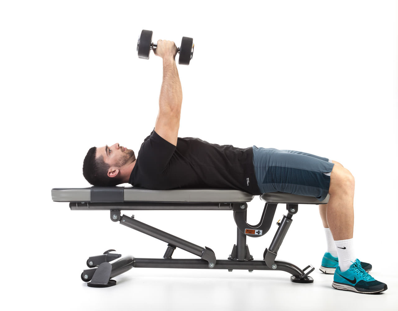 Dumbbell Bench Press with Rotation frame #2