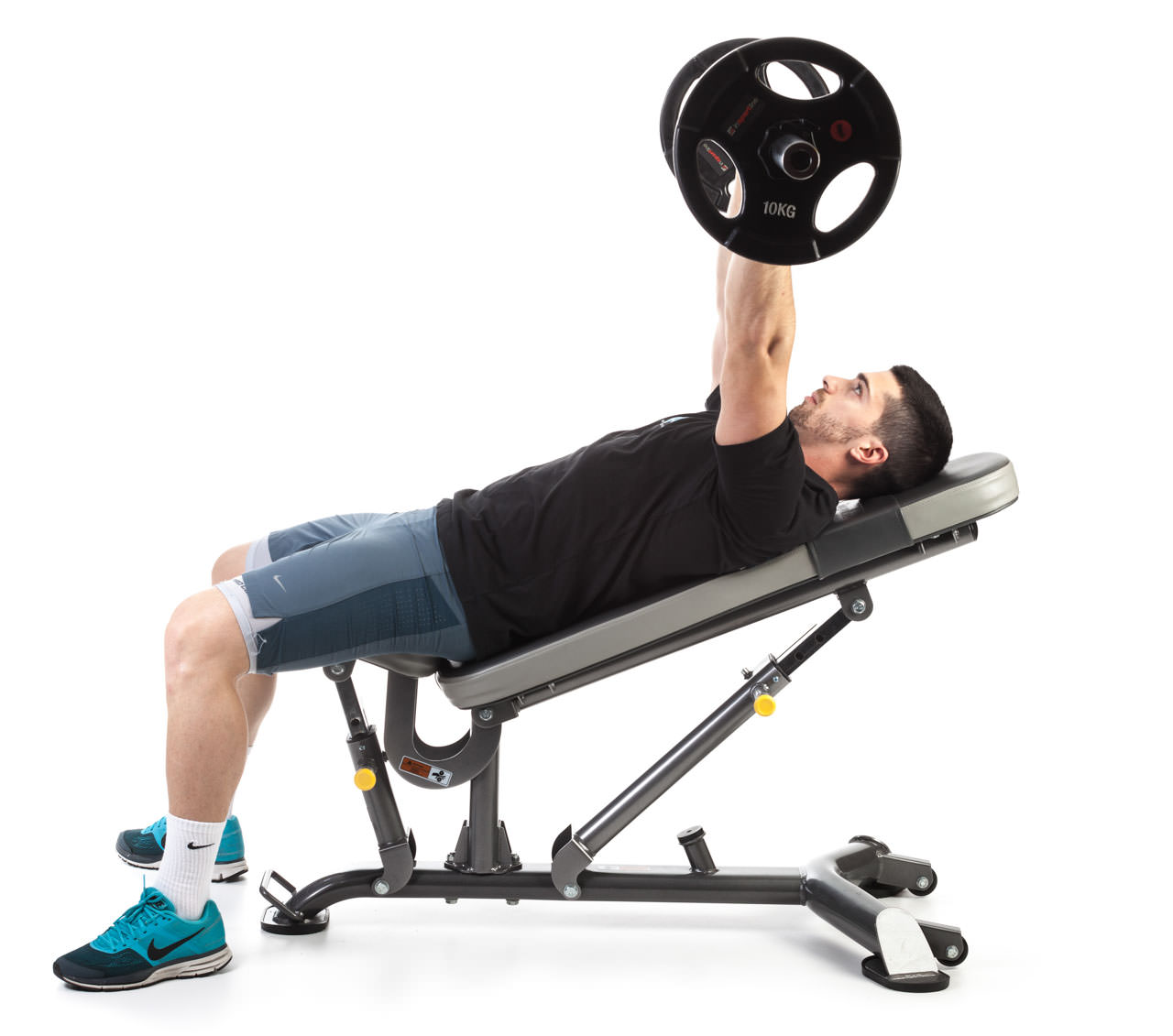 Barbell Incline Bench Press frame #1