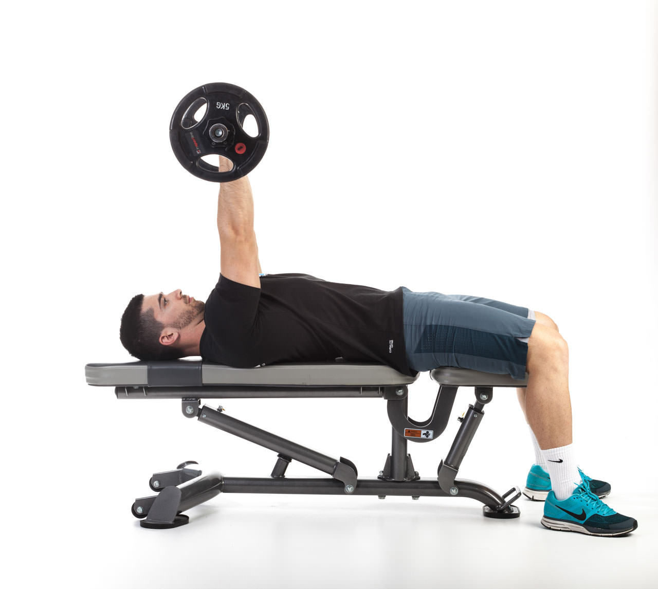 Lying Barbell Triceps Extension frame #1