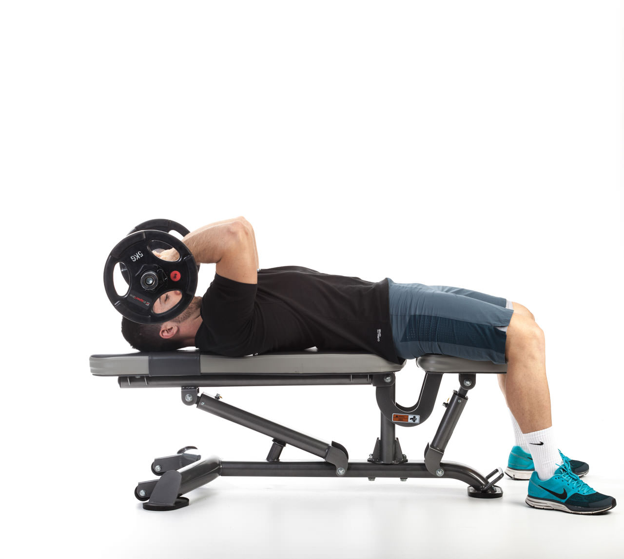 Lying Barbell Triceps Extension frame #2