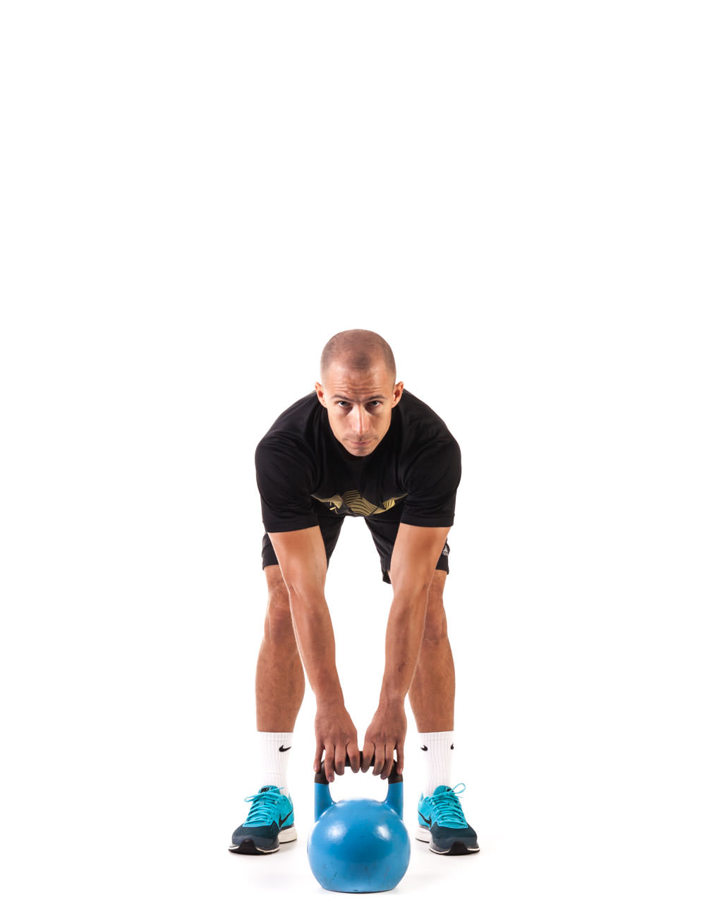 Two-Arm Kettlebell Swing frame #1
