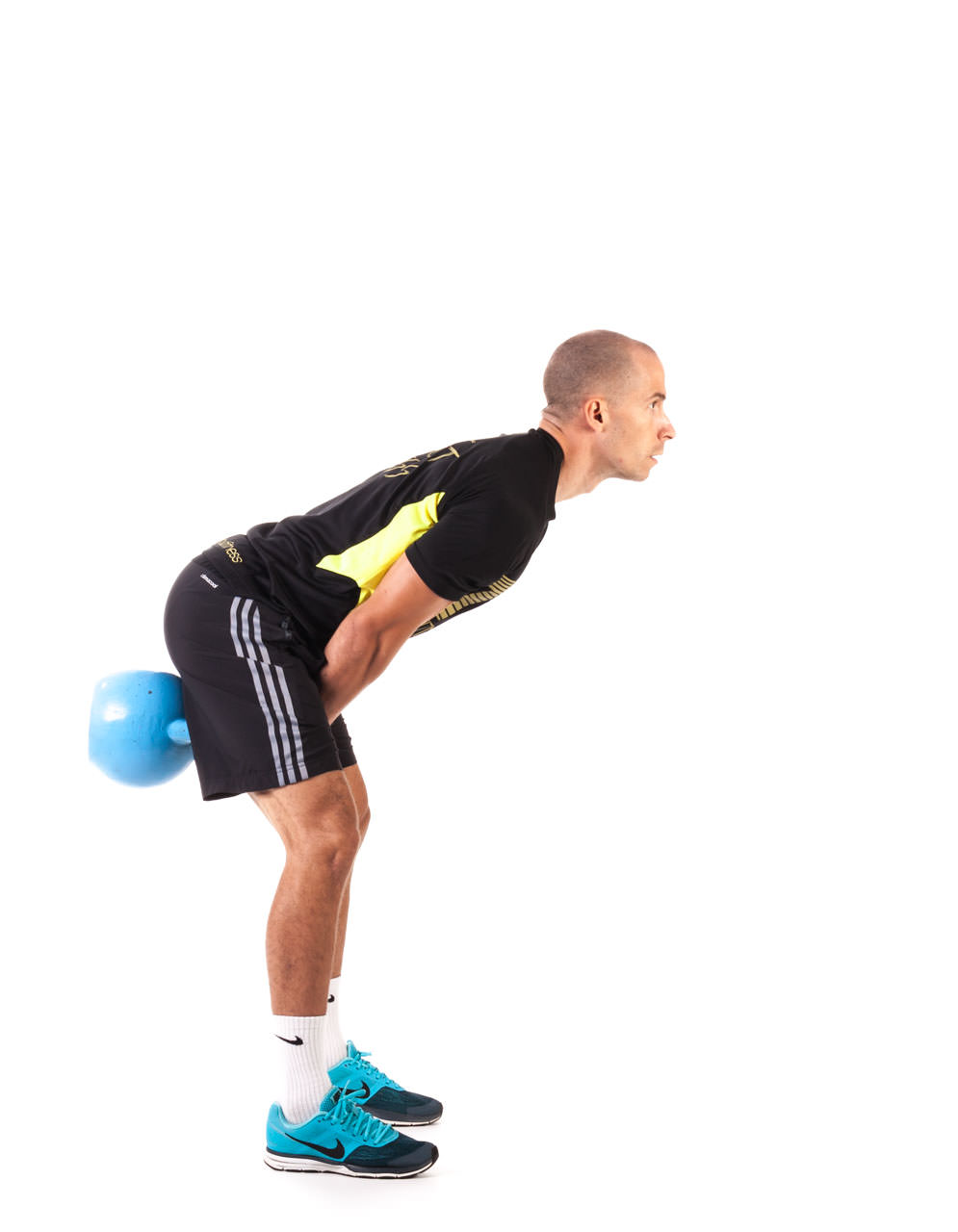 Two-Arm Kettlebell Swing frame #6