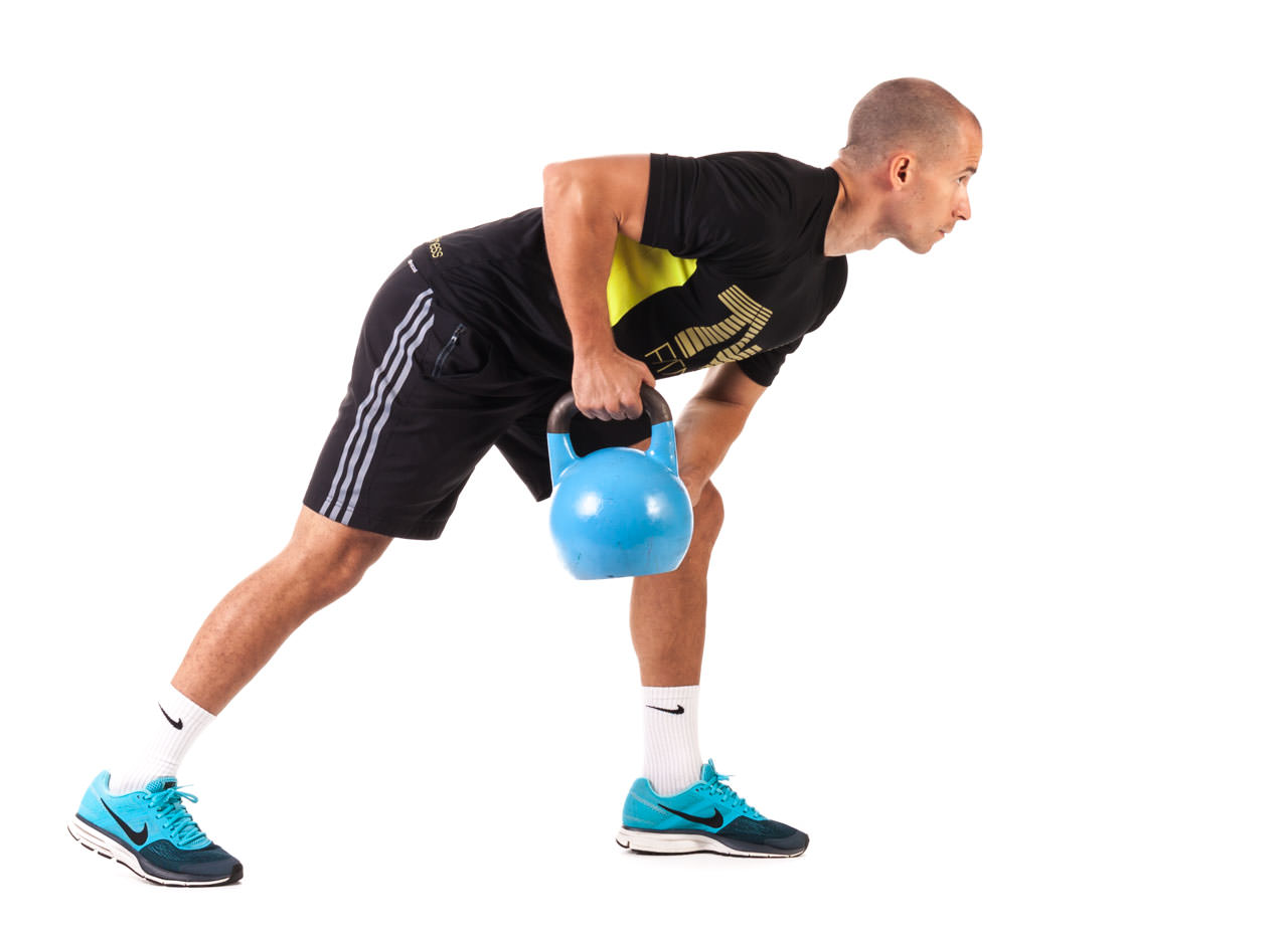One-Arm Kettlebell Row frame #5