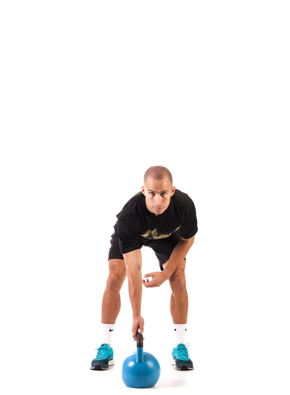 One-Arm Kettlebell Snatch frame #1