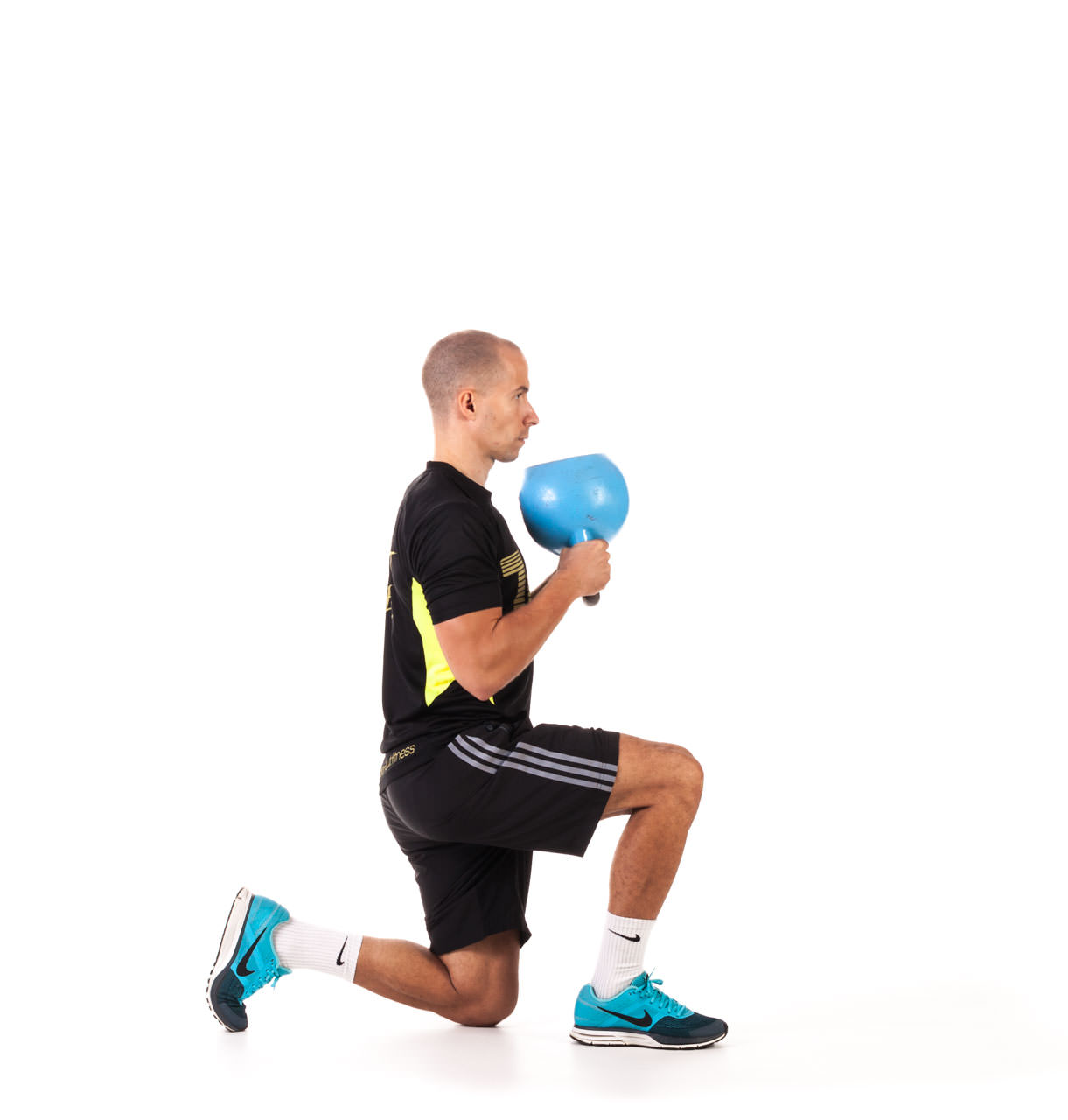 Kettlebell Kneeling to Stand Up frame #4