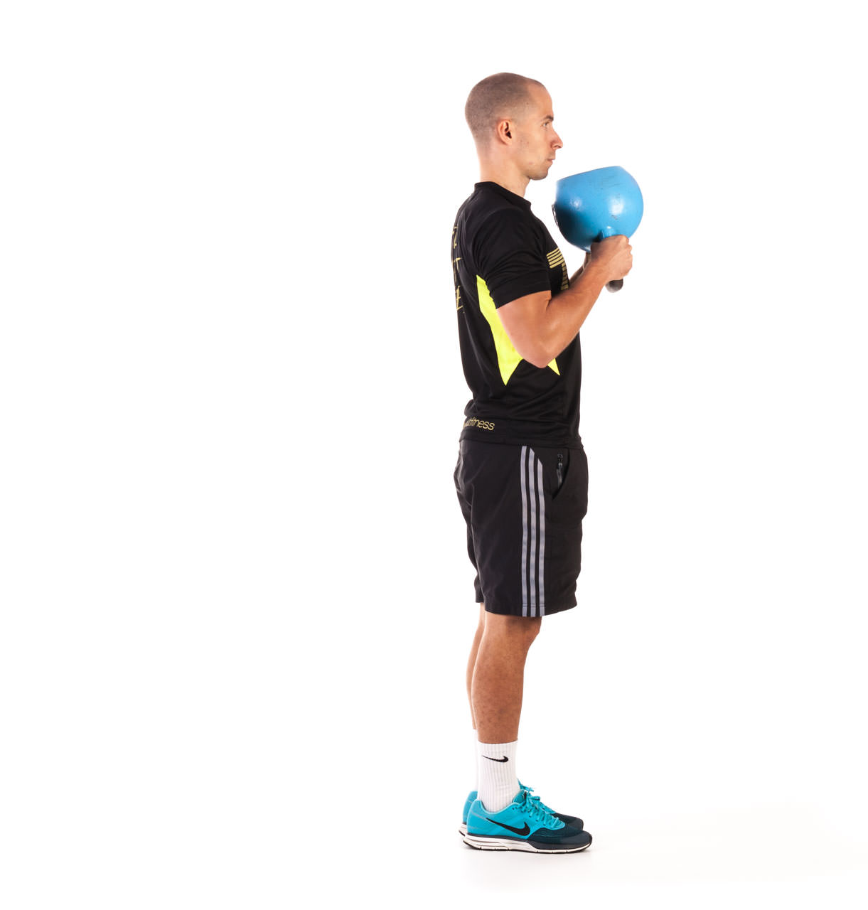 Kettlebell Kneeling to Stand Up frame #3