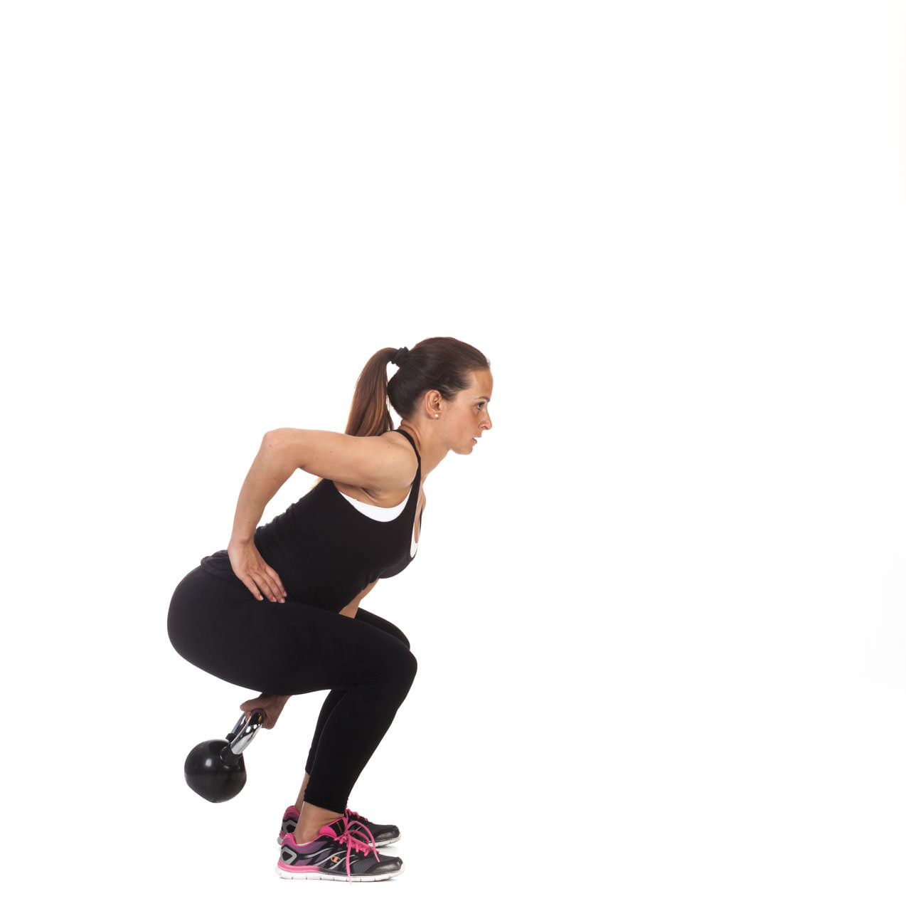 One-Arm Kettlebell Swing frame #1