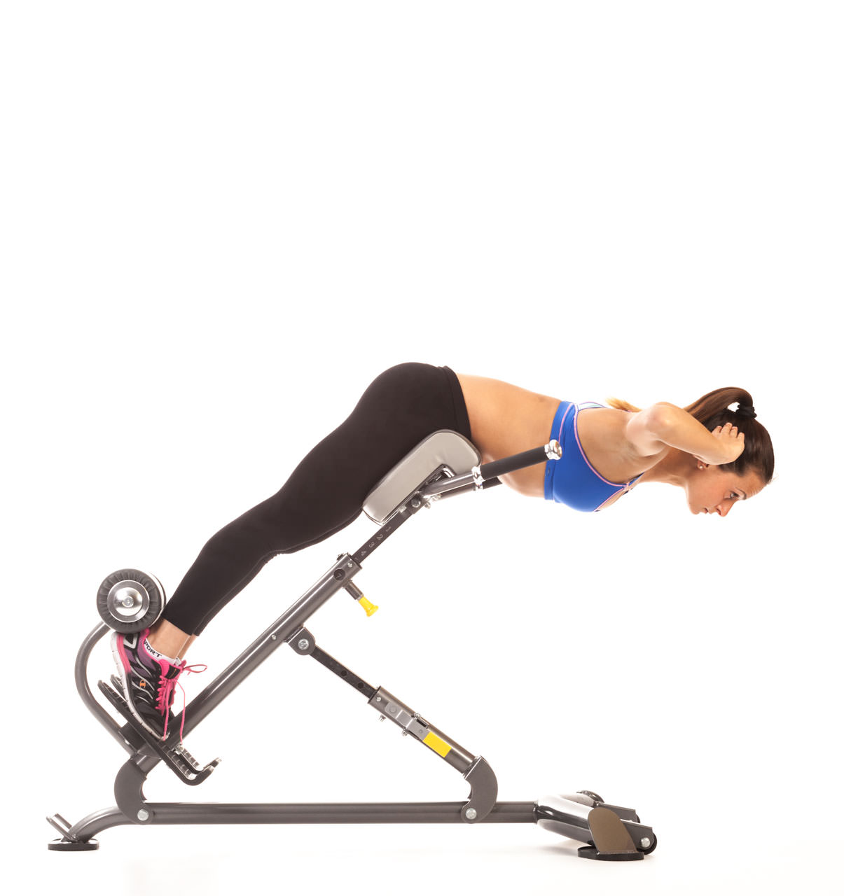 Back Extension (Hyperextension Bench) frame #2