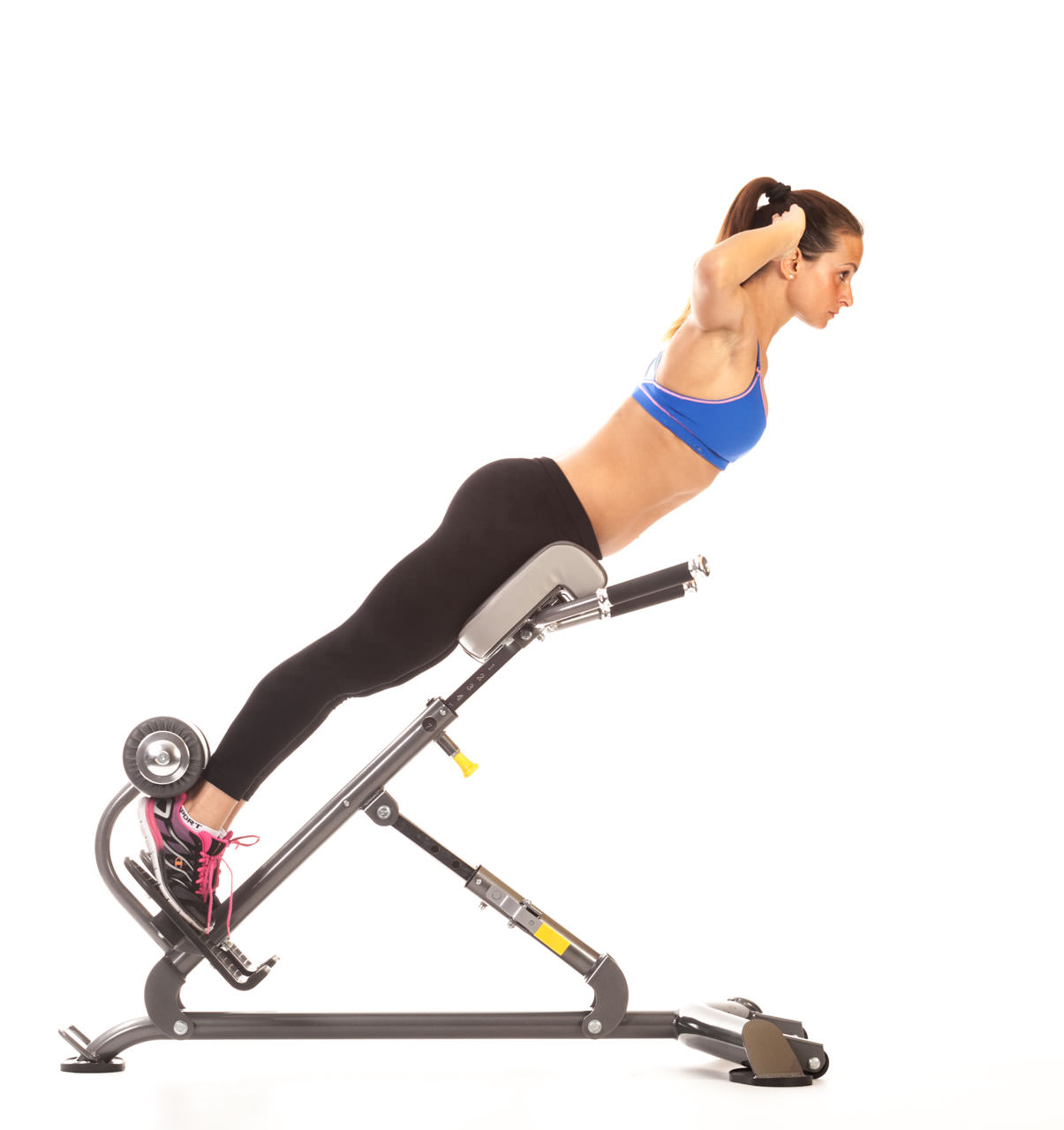 Back Extension (Hyperextension Bench) frame #1