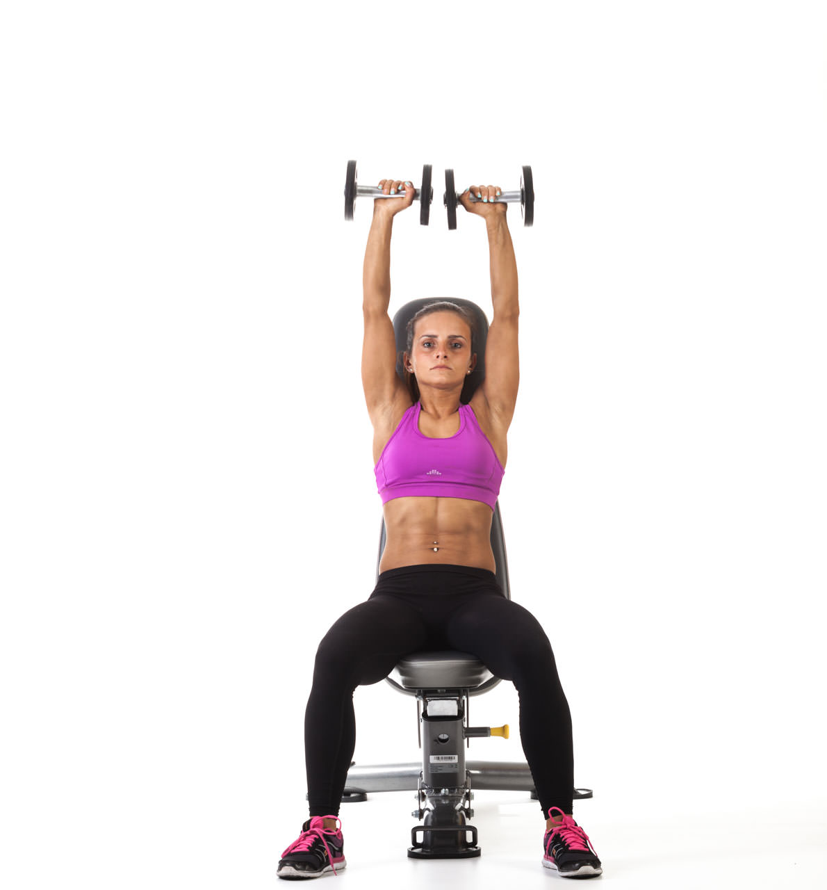 Seated Dumbbell Press (Bench) frame #2