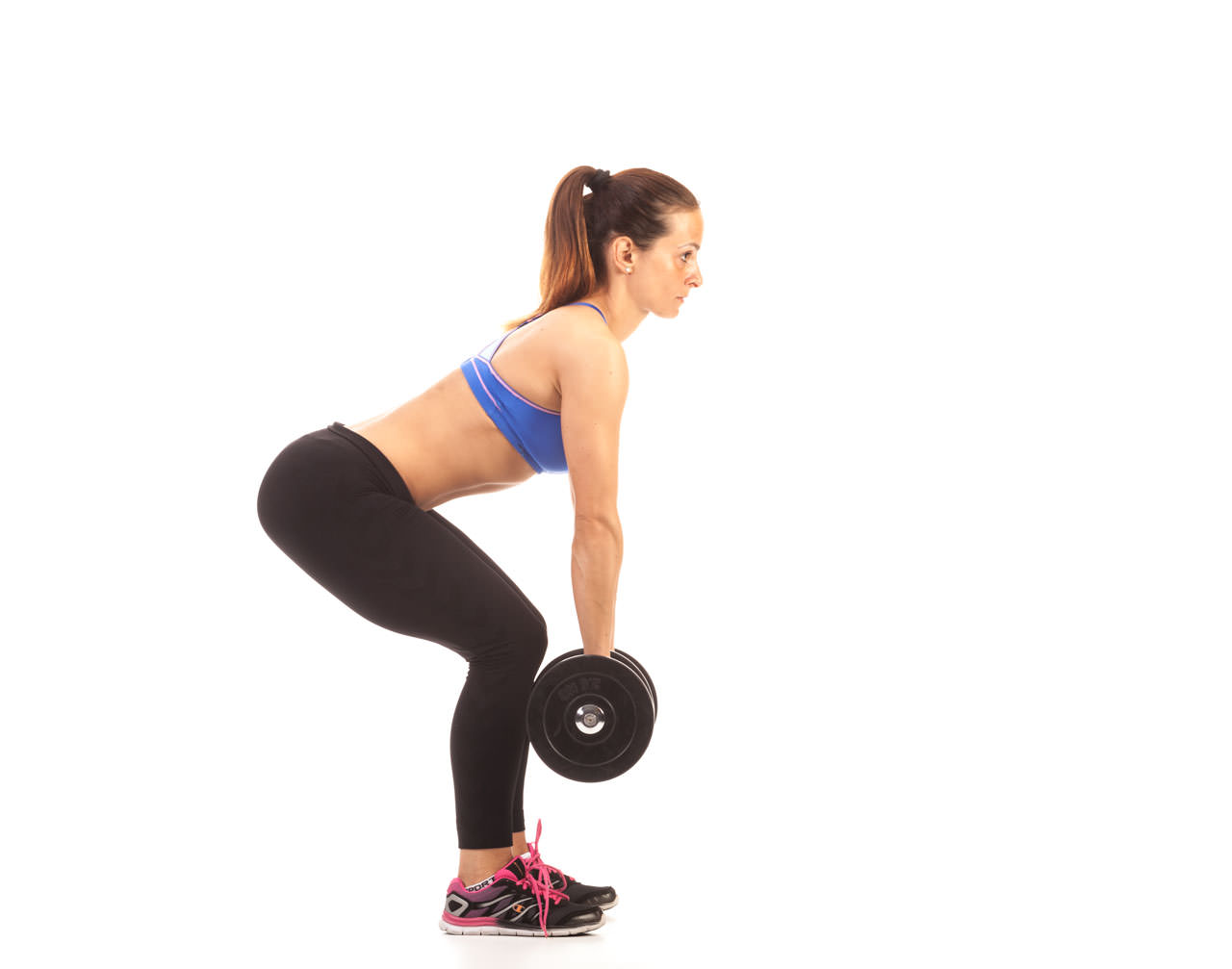 Bent Over Two-Dumbbell Row (with Rotation) frame #1