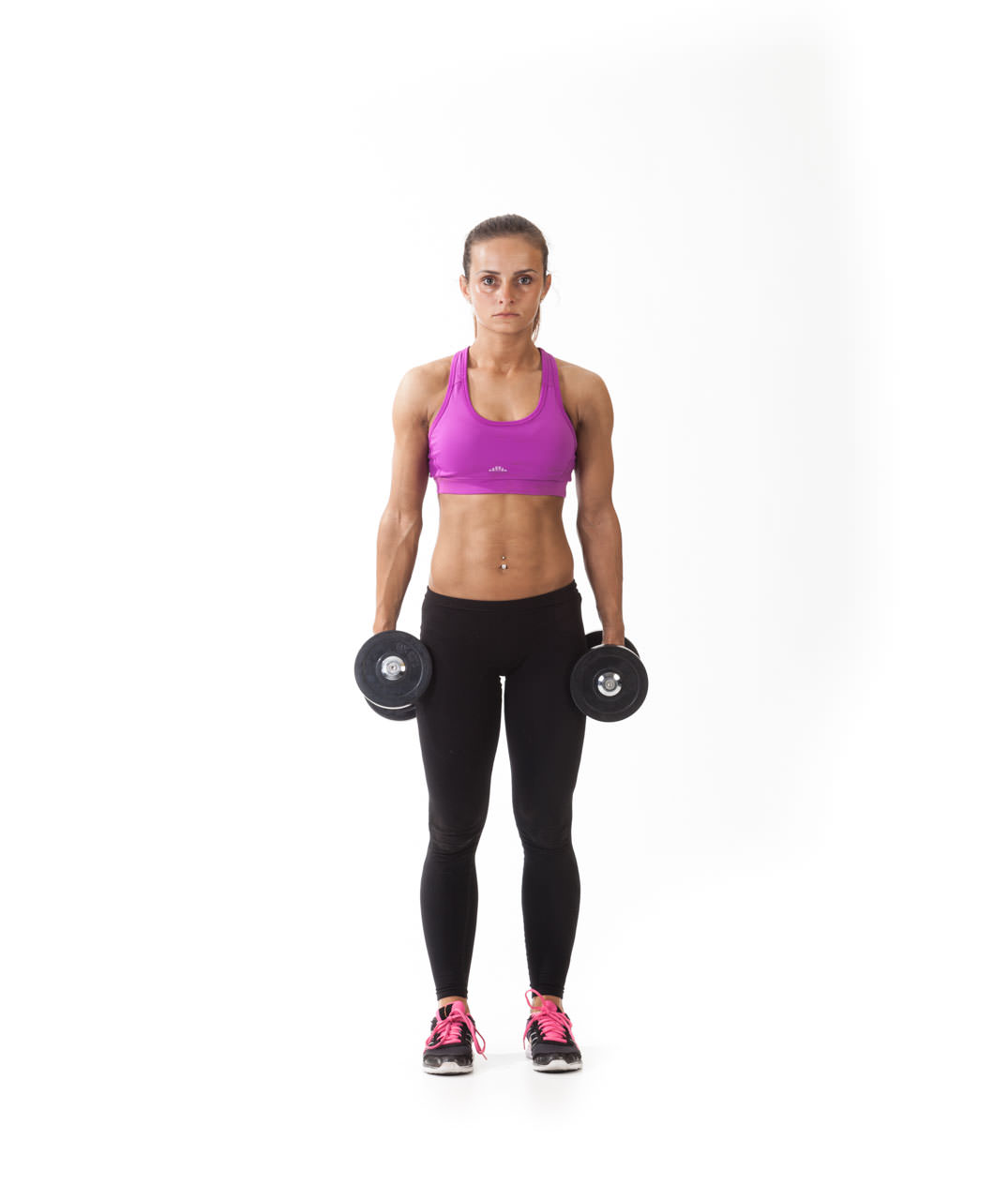 Dumbbell Lunge with Lateral Raise frame #3