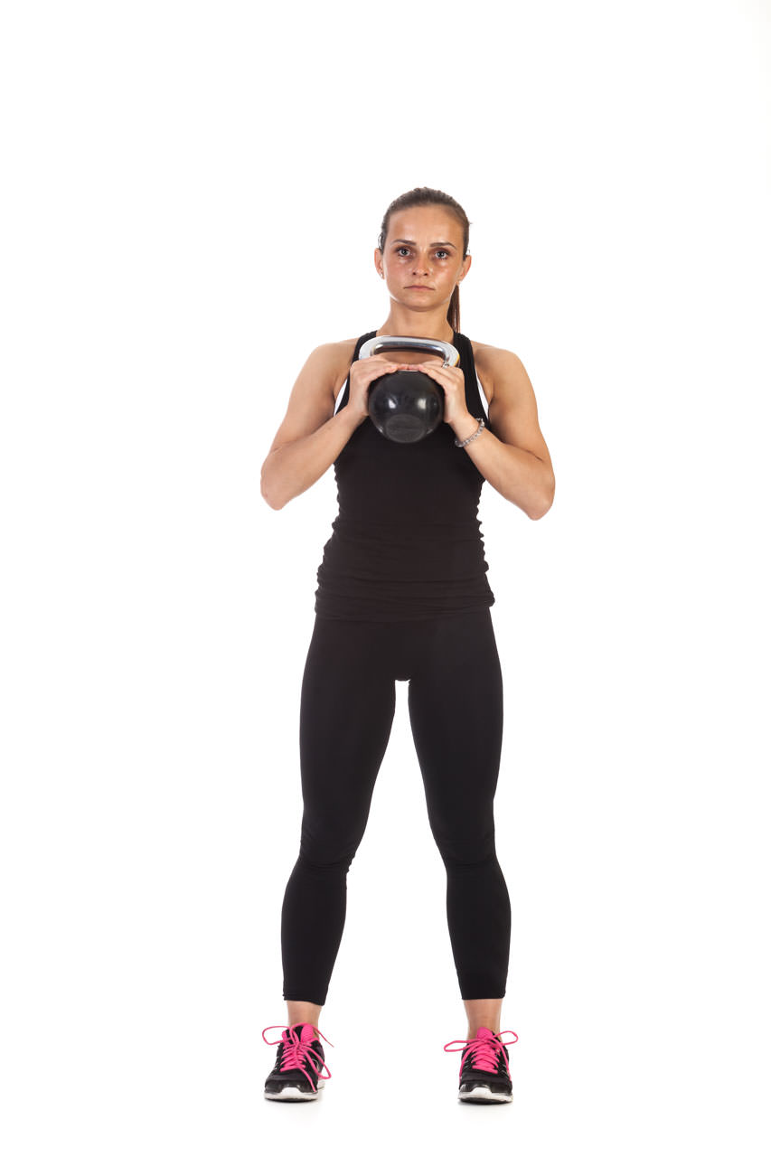 Kettlebell Lunge with Torso Rotation frame #3