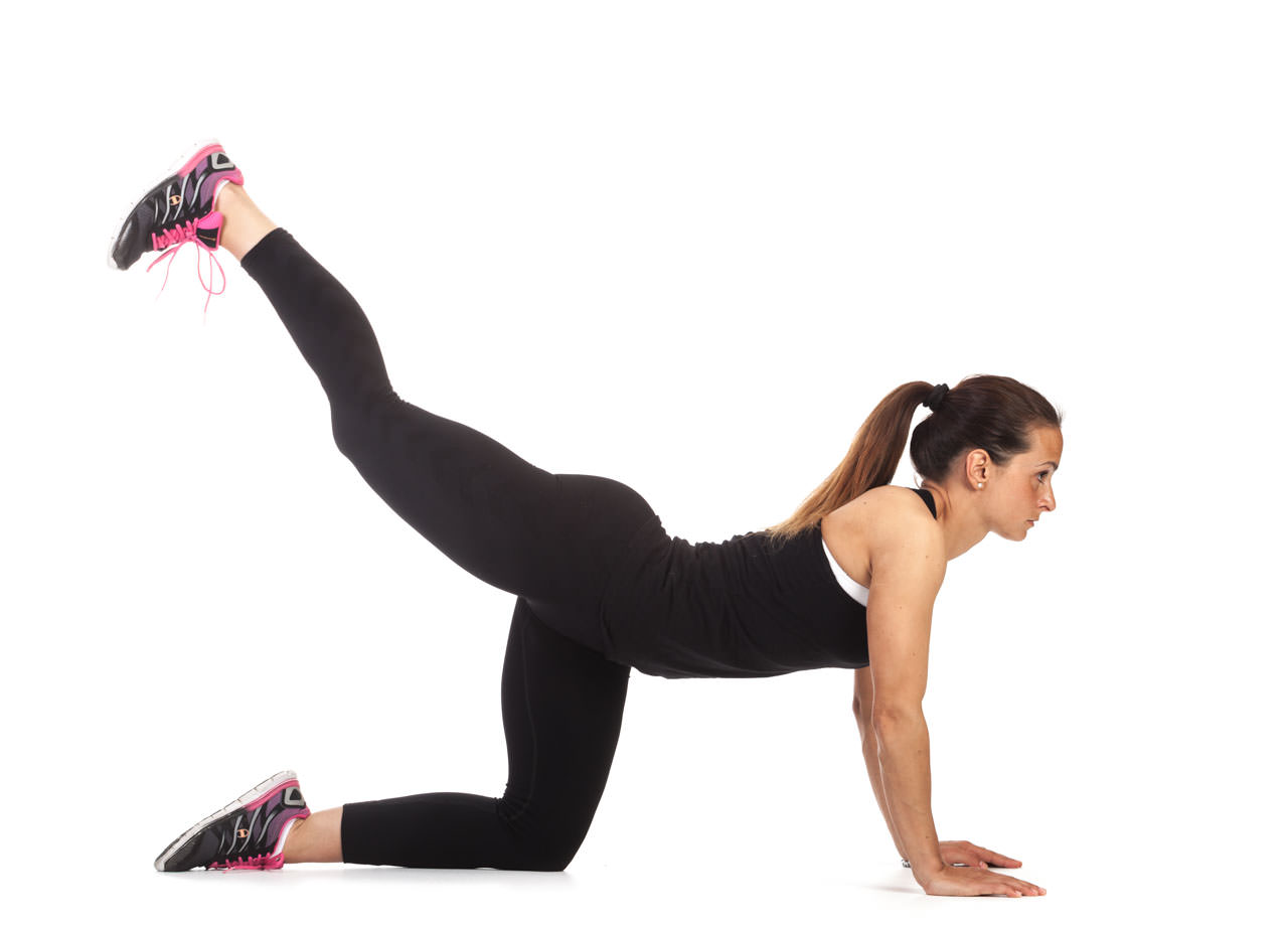 One-Leg HR Push-Up frame #1
