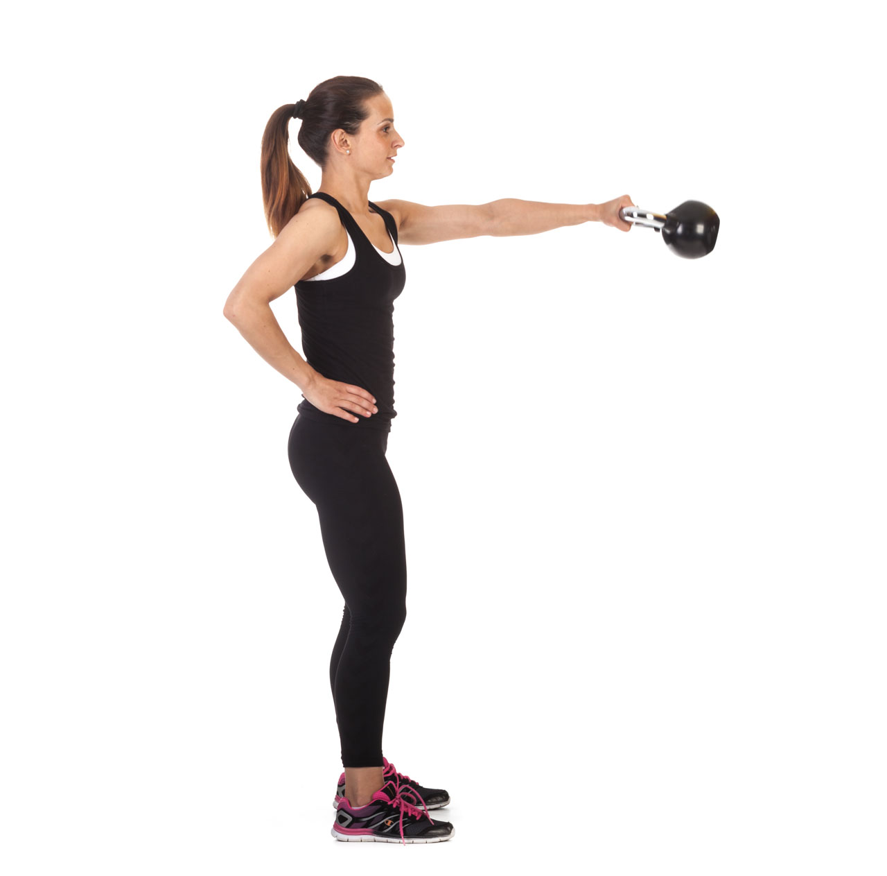 One-Arm Kettlebell Snatch frame #2