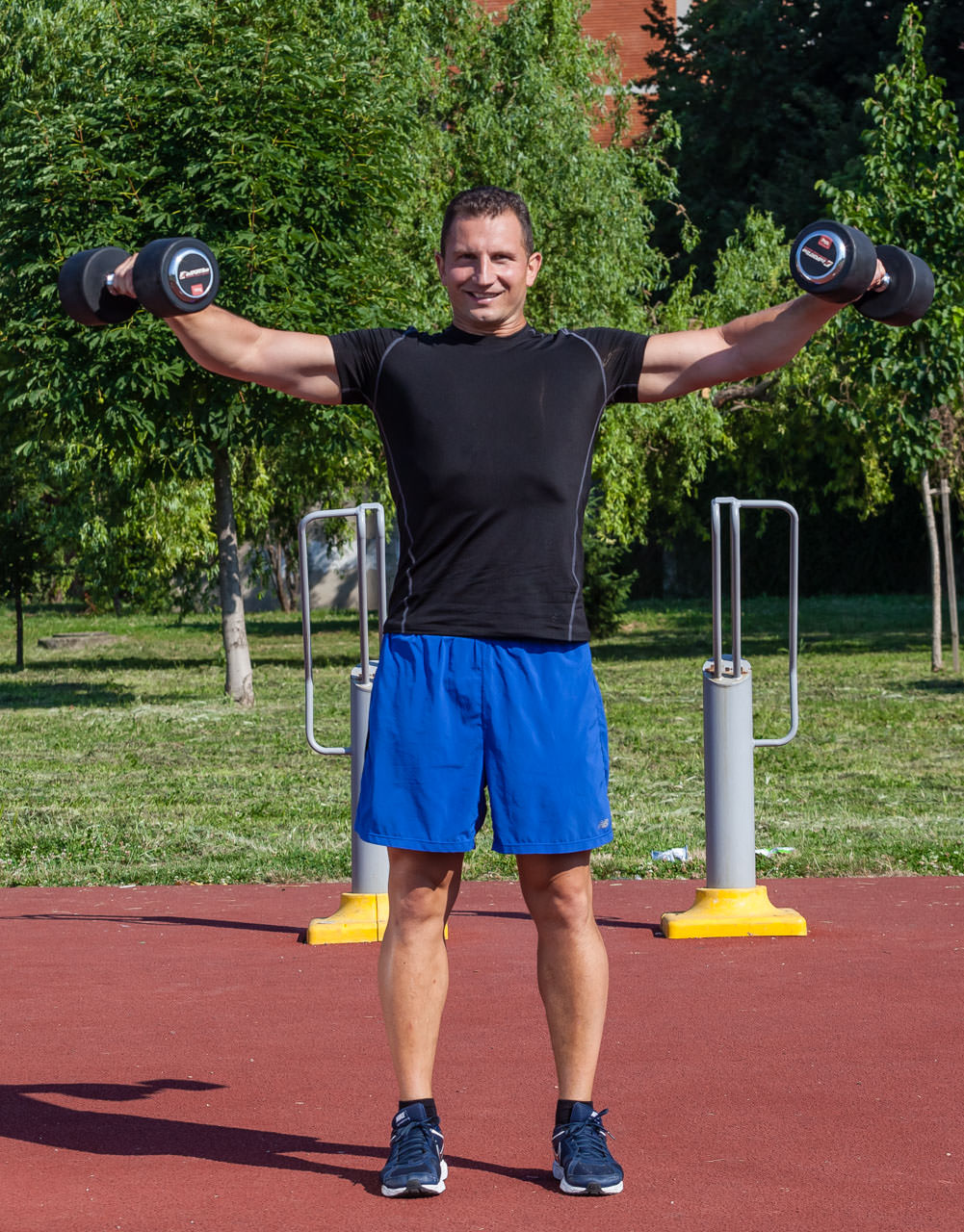 Two-Dumbbell Lateral Raise frame #2