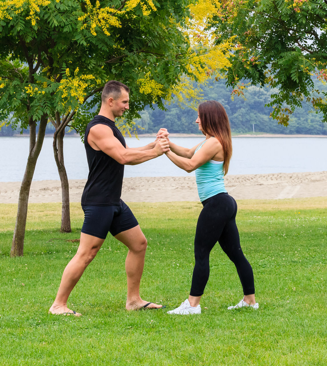 Partners (Chest, Triceps, Abs) frame #2