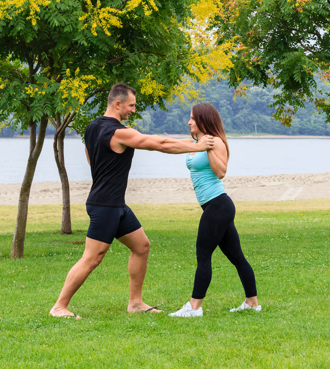 Partners (Chest, Triceps, Abs) frame #3