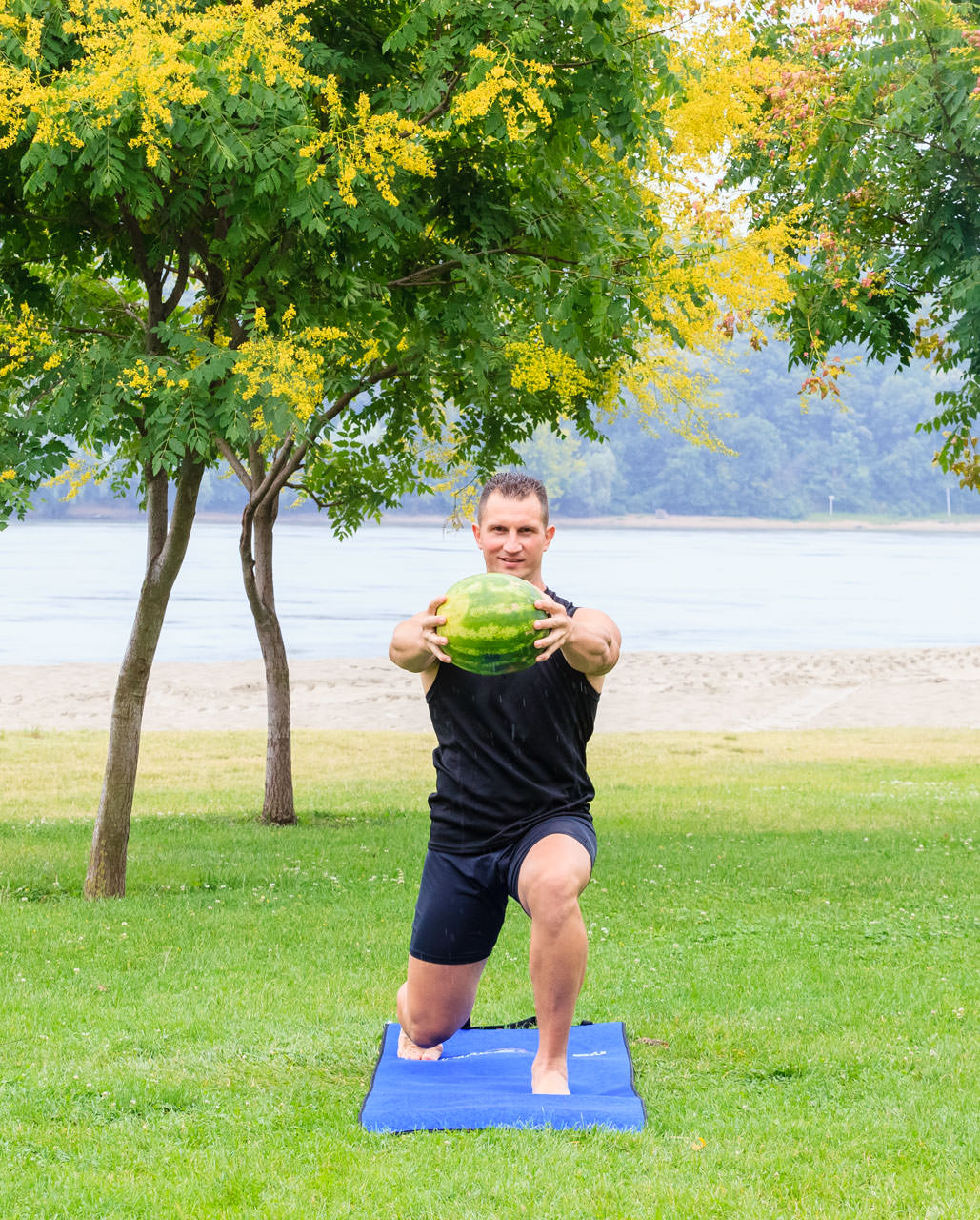Watermelon Lunge with Torso Rotation frame #4