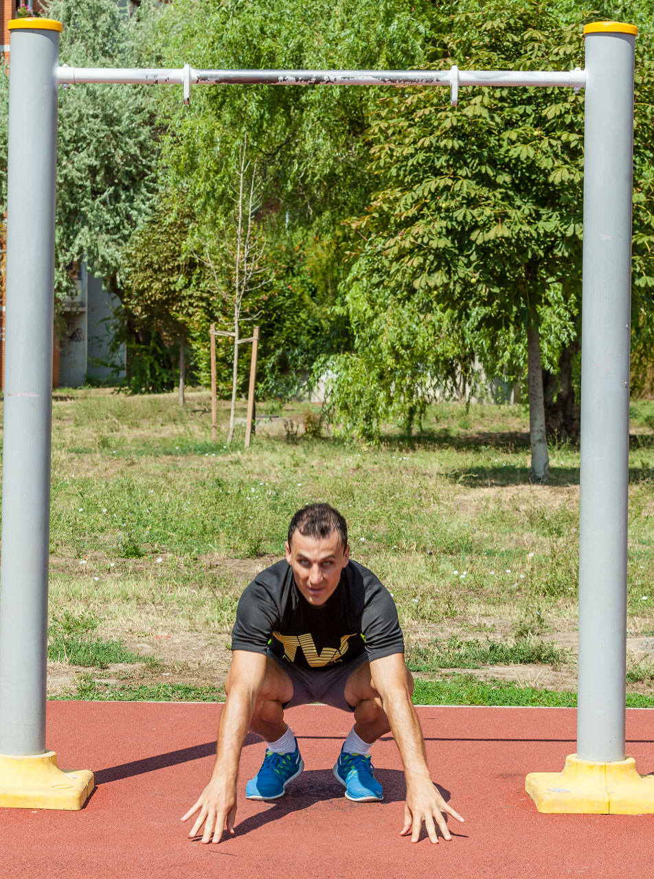 Burpee Pull Up frame #2
