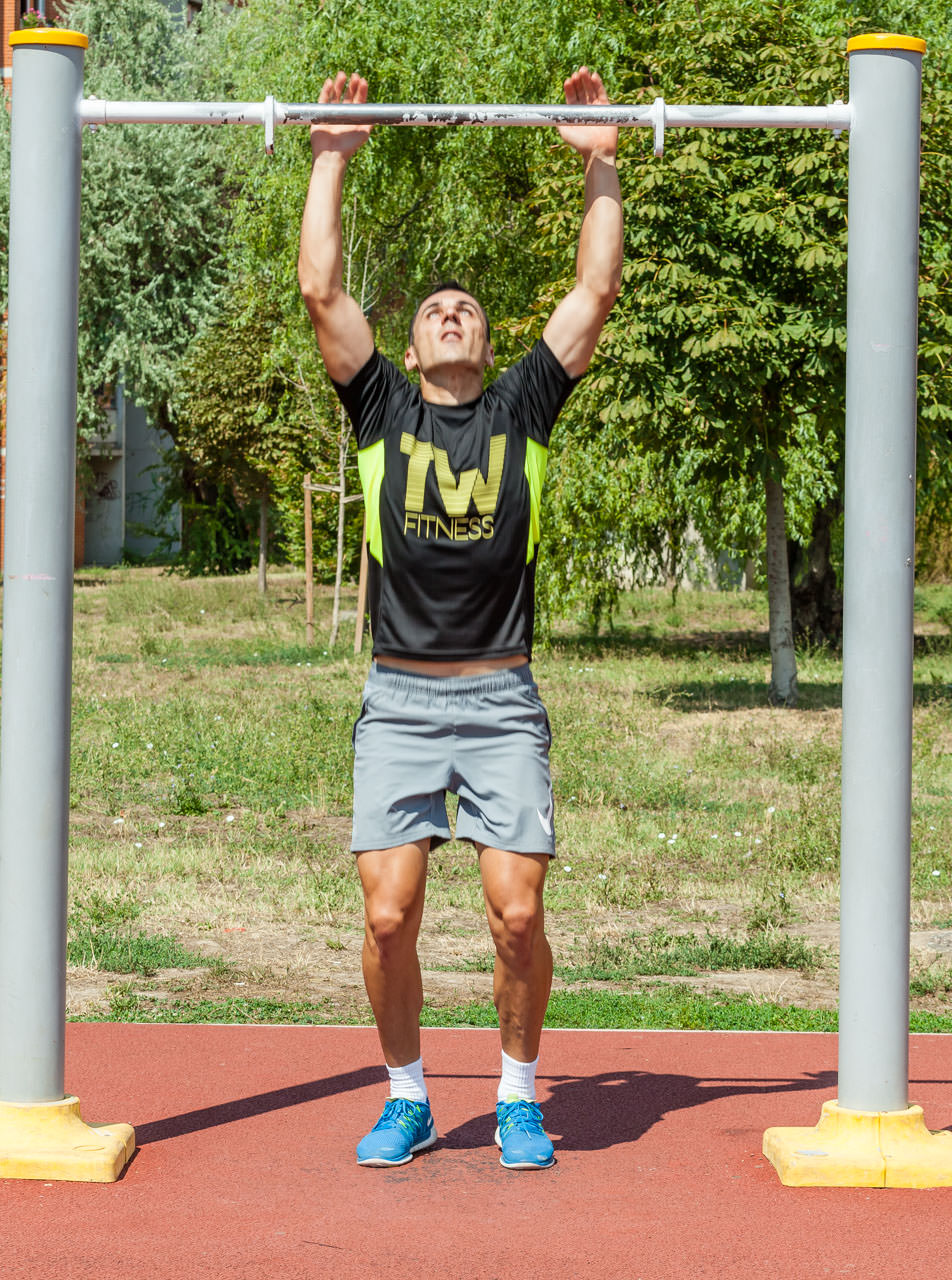 Burpee Pull Up frame #3