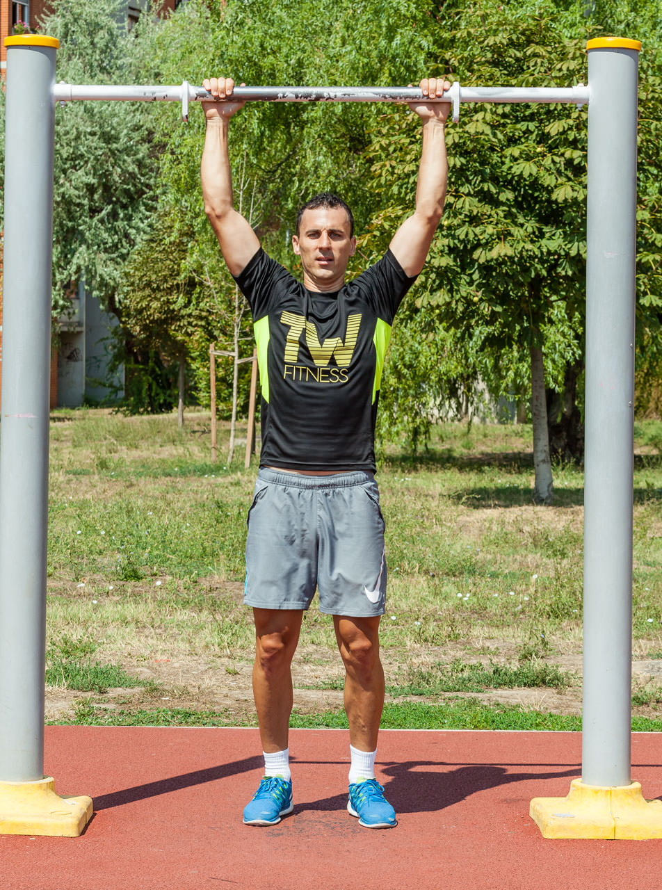 Burpee Pull Up frame #5