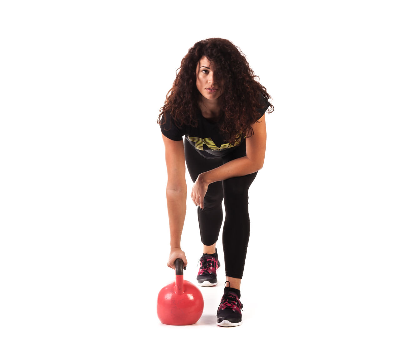 One-Arm Kettlebell Row frame #3