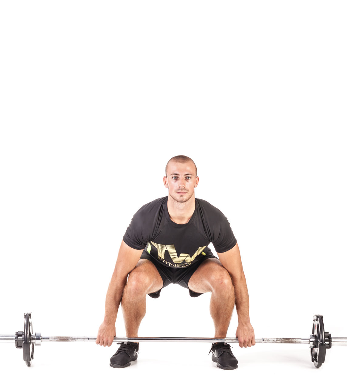 Barbell Deadlift frame #1