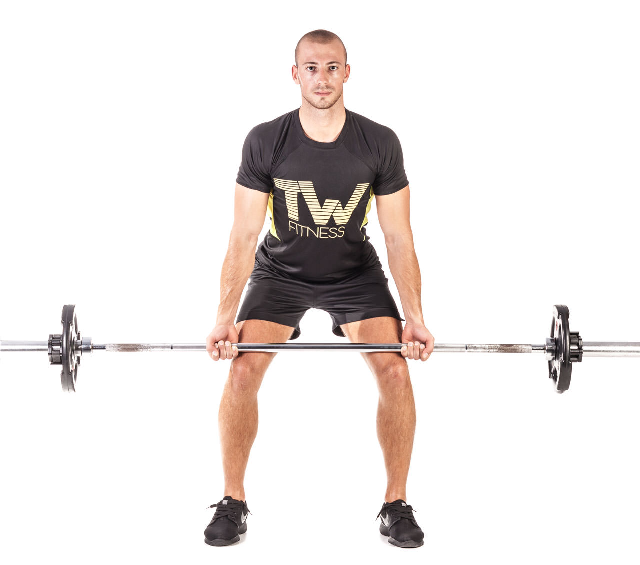 Barbell Bent Over Row (Reverse Grip) frame #1