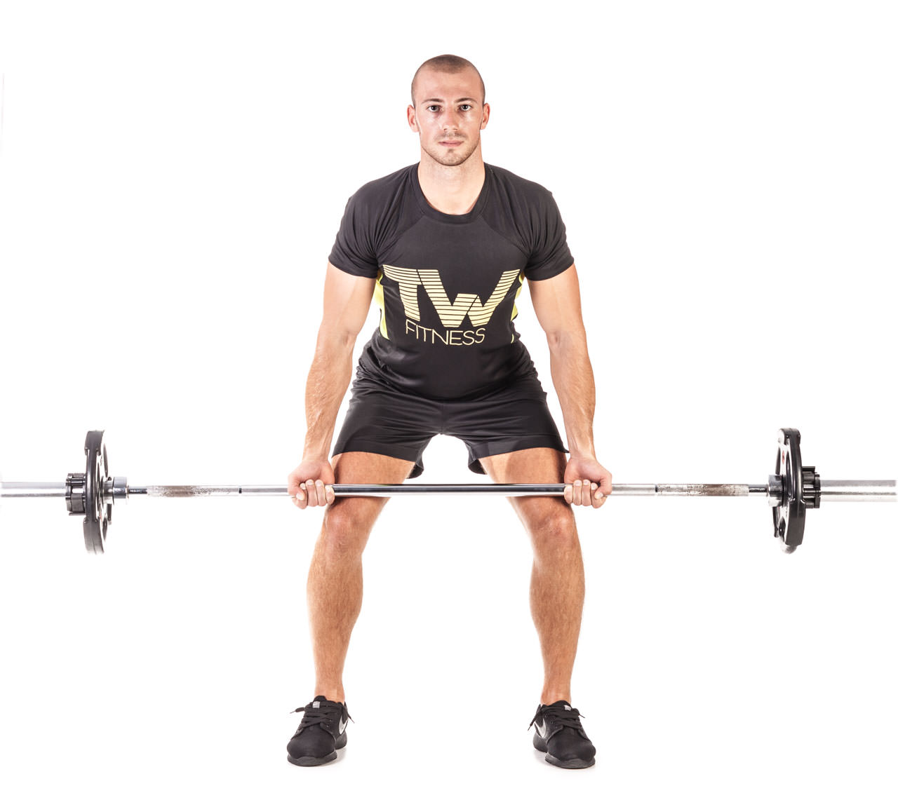 Barbell Bent Over Row (Reverse Grip) frame #3