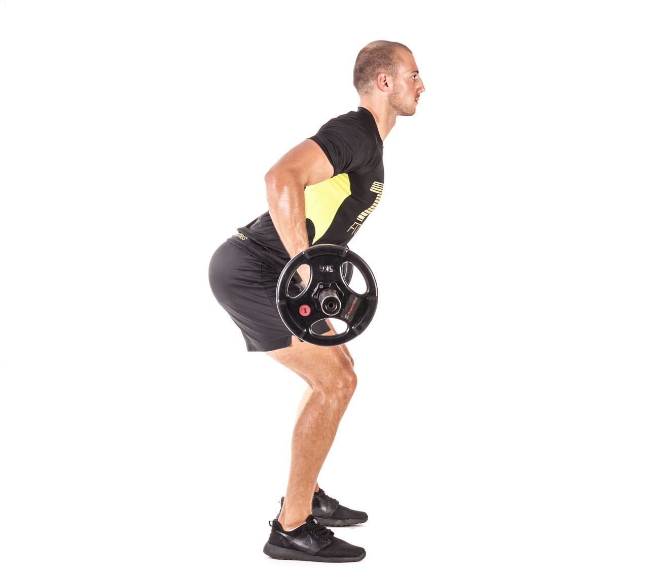 Barbell Bent Over Row (Reverse Grip) frame #5