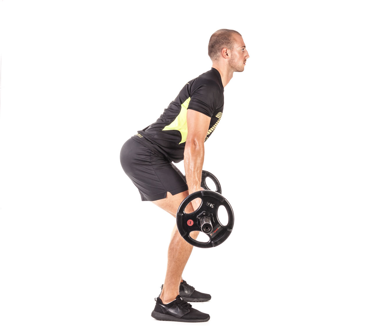 Barbell Bent Over Row (Reverse Grip) frame #6