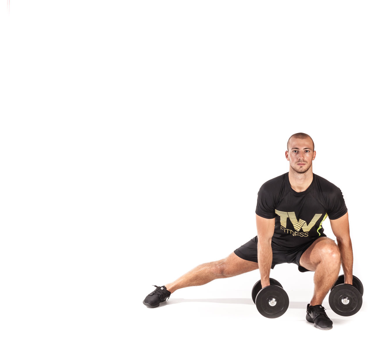 Dumbbell Side Lunge frame #4